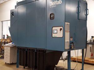 Dépoussiéreur modulaire fermé – Nettoyage à air pulsé